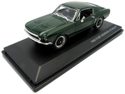 Yat Ming Scale 1:43 - 1968 Ford Mustang Gt Fastback Bullitt Steve Mcqueen By Yat Ming Toy (english Manual)