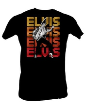 Elvis Presley Shirt Toe Stand Size Medium The King T-shirt
