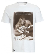 Iconic Mike Tyson Warrior Tiger Print Hip Hop Fresh Tee T-shirt