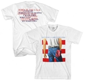 Fea Merchandising Fea Bruce Springsteen White Born In The Usa T-shirt Medium