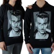Little Eleven Paris - Sweat Little Eleven Paris Jd Johnny Depp Mixte (garçon / Fille) Noir