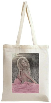 Shakira Portrait Tote Bag