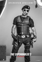 Sylvester Stallone Photo d/édicac/ée encadr/ée The Expendables
