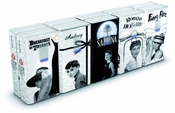 World Cart Srl - Audrey Hepburn - Mouchoirs 10 X 9 - 4 Plis - Imprimé - Lot De 4
