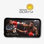 Mike Tyson Heavyweight Champion Boxer Punch Coque Pour Samsung Galaxy S5 A5562