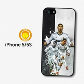 Cristiano Ronaldo Collage Real Madrid Cf Football Coque Pour Iphone 5 5s A158