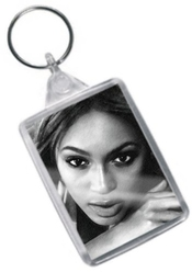 Beyonce Knowles - Original Art Keyring #js001