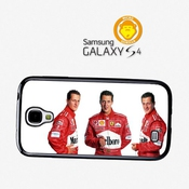 Michael Schumacher Funny Faces F1 Driver Coque Pour Samsung Galaxy S4 A446
