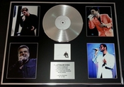 George Michael/gigantic Cd Platinum Disc/record & Photo Display/ltd. Edition/patience