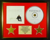 George Michael/cadre Cd/edition Limitee/certificat D'authenticite/patience