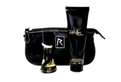 Rihanna Rebl Fleur Set 15ml Edp + 90ml Body Lotion + Cosmetic Pouch