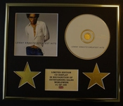 Lenny Kravitz/cadre Cd/edition Limitee/certificat D'authenticite/greatest Hits