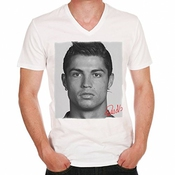 Cristiano Ronaldo Football Soccer T-shirt Homme One In The City