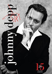 Calendrier Official Johnny Depp 2015
