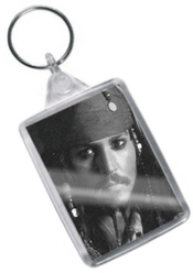 Johnny Depp - Original Art Keyring #js007