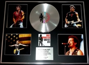 Bruce Springsteen/gigantic Cd Platinum Disc/record & Photo Display/ltd. Edition/greatest Hits