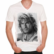 Patrick Swayze Blond Point Break Movie T-shirt Homme One In The City
