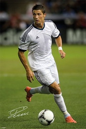 Cristiano Ronaldo : Real Madrid Poster Grand Format 61 X 91,5 Cm