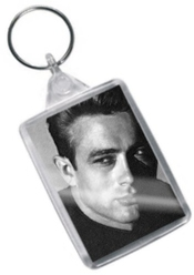 James Dean - Original Art Keyring #js002