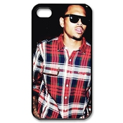 Custom Your Own Chris Brown Iphone 4/4s Case , Personalised Chris Brown Iphone 4 Cover