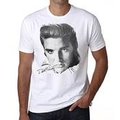 Elvis Presley Star T-shirt Homme One In The City