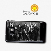 Bruce Springsteen Black And White Street Band Coque Pour Samsung Galaxy S2 A5911