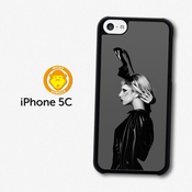 Lady Gaga Shoe Hat Black & White Born This Way Coque Pour Iphone 5c A1145