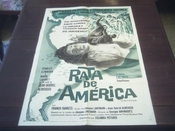 Original Movie Poster Le Rat D'amerique Rat Trap Charles Aznavour 1964