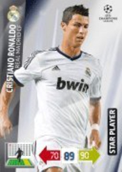 Champions League Adrenalyn Xl 2012/2013 Cristiano Ronaldo 12/13 Star Player