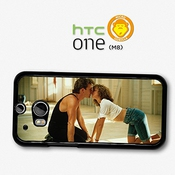 Dirty Dancing Movie Still Baby And Johnny Kissing Patrick Swayze Coque Pour Htc One M8