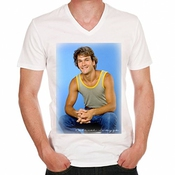 Patrick Swayze T-shirt Homme One In The City