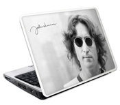 Musicskins Sticker John Lennon New York City 241mm X 164mm Sticker Pour Netbook - Large (import Royaume Uni)