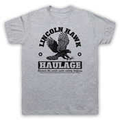 Over The Top Lincoln Hawk Haulage Sylvester Stallone T-shirt Des Hommes