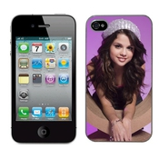 Selena Gomez Cas Adapte Iphone 4 Et 4s Couverture Coque Rigide De Protection (3) Case Pour La Apple I Phone