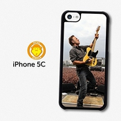 Bruce Springsteen Concert Live Yellow Guitar Coque Pour Iphone 5c A5817