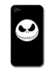 The Nightmare Before Christmas Halloween Tim Burton Jack Skellington Coque Pour Iphone 4 4s