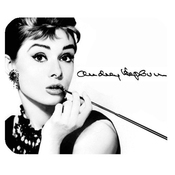 Customized Mode Populaire Audrey Hepburn Tapis De Souris