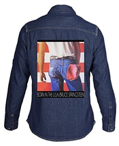 Bruce Springsteen Album Cover Mens Denim Shirt