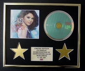 Selena Gomez & The Scene/cadre Cd/edition Limitee/certificat D'authenticite/