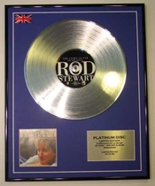 Rod Stewart/edition Limitee/cadre Cd/disque De Platine/record/the Story So Far - The Very B...