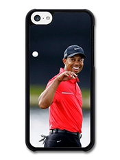 Tiger Woods Golf Legend Sport Smiling Coque Pour Iphone 5c