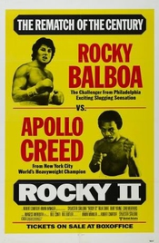 Rocky 2 - Sylvester Stallone - Imported Movie Wall Poster Print - 30cm X 43cm Retro Including Creases
