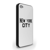 John Lennon New York City Famous T-shirt Iphone 4/4s Case - Noir
