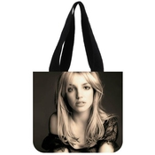 Britney Spears Fourre-tout(2 Sides) New Fashion Design Canvas Shopping Bag