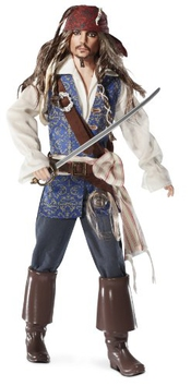 Barbie Collector - T7654 - Poupée Mannequin - Pirate - Johnny Depp