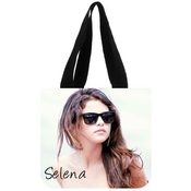 Top Sale Popular Shopping Bag Custom Selena Gomez Cotton Canvas Cool Shopping Tote Bag (2 Sides)