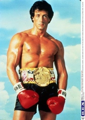 Sylvester Stallone Movie Poster Rocky X36in - 60 Cm