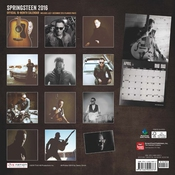 Calendrier Bruce Springsteen 2016