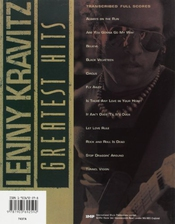 Lenny Kravitz - Greatest Hits: (guitar Tab)