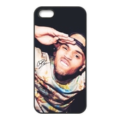 Beautiful Memory-customize Rubber Iphone 5 5s Back Cover Case-chris Brown